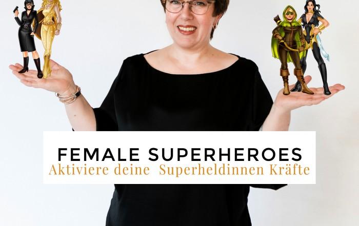 Ein Mutausbruch pur- die Female Superheroes